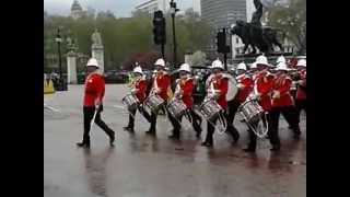 changing of the guard , royal gibraltar regiment 28/04/2012
