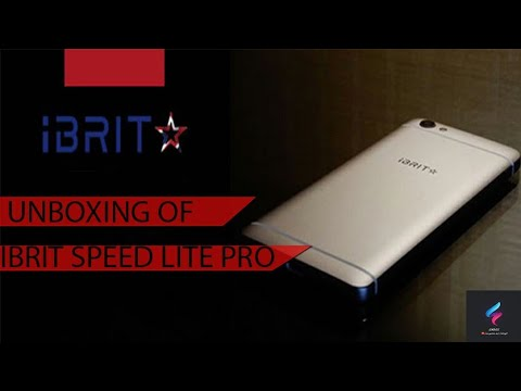 UNBOXING Of IBRIT SPEED LITE PRO! BUDGET PHONE! ✌️
