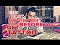 6 MOST IMPORTANT RULE BEFORE YOU GET TATTOO | VLOG 2 | THE BEARD TATTOO STUDIO