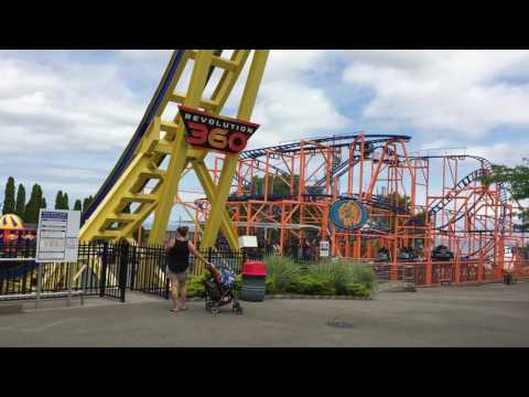 Seabreeze Amusement Park Walk-thru