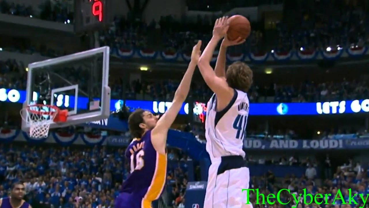 Dirk Nowitzki Shots Hd Nba Youtube