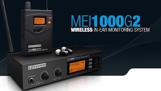 LD Systems MEI 1000 G2 Series - Wireless In-Ear Monitoring System