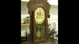 Waterbury Mantel Clock with Steel Plates Overhaul Preview