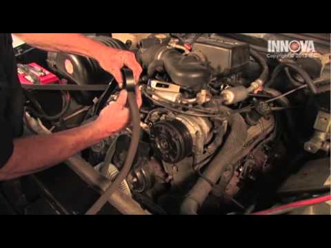 How To Install Replace Serpentine Belt Idler Pulley 199 ...