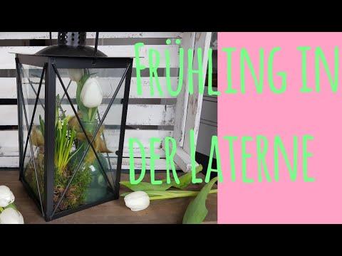 fr hling in der laterne diy floristik fr hlingsdeko youtube. Black Bedroom Furniture Sets. Home Design Ideas