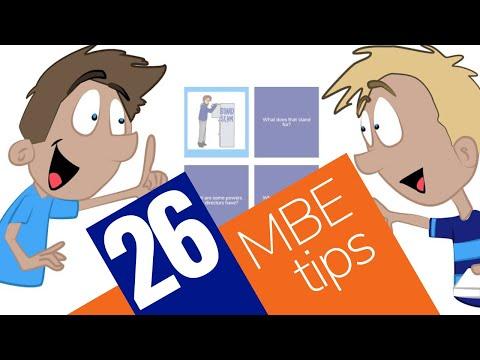 26 Best MBE Tips – Crushendo®