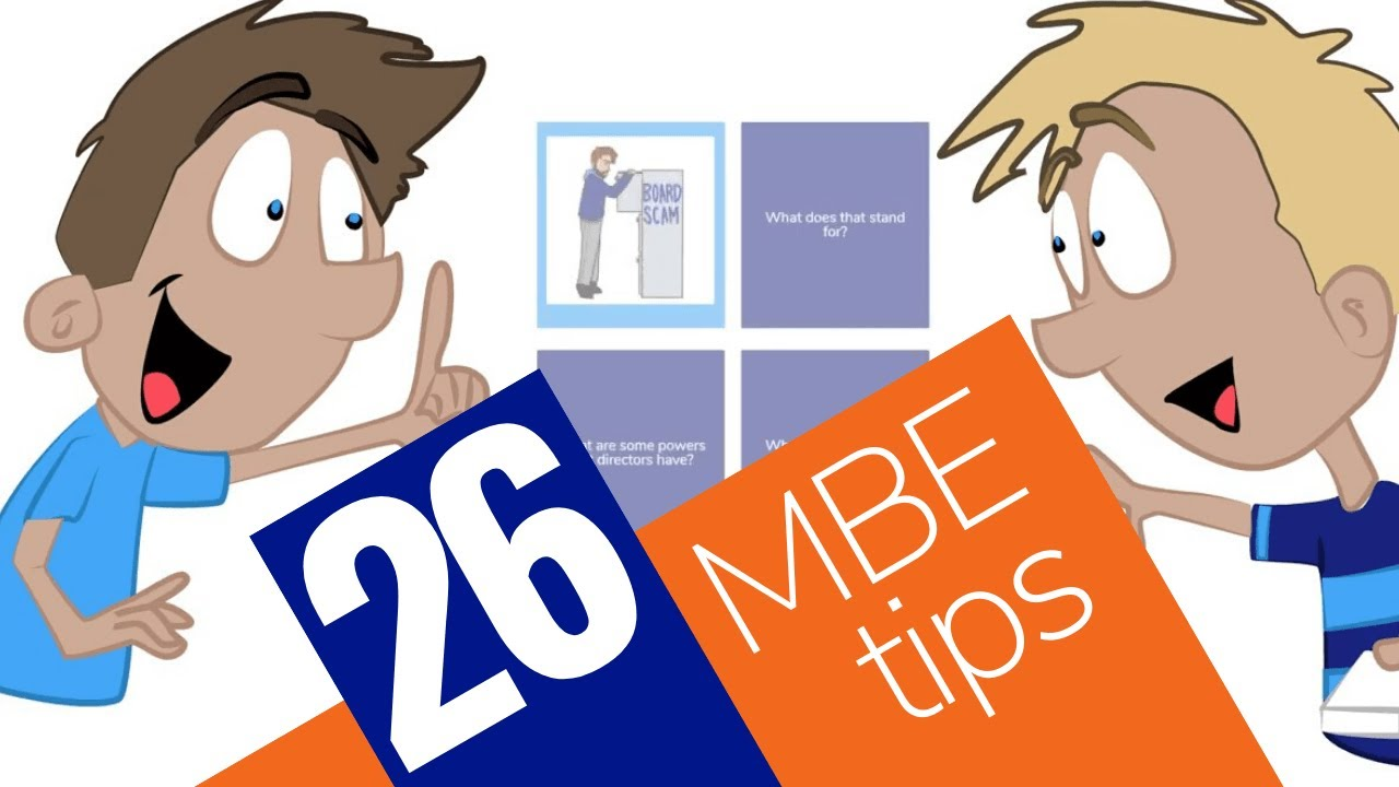 26 Best MBE Tips – Crushendo®