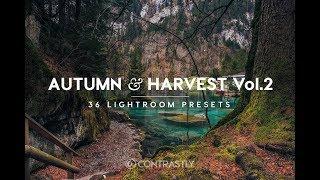 Autumn & Harvest Lightroom Preset Packs Overview