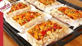 Lokum Gibi Pişmiş Tavuklu Kağıt Kebabı 😋| Akşama Değişik Ne Pişirsem? #1
