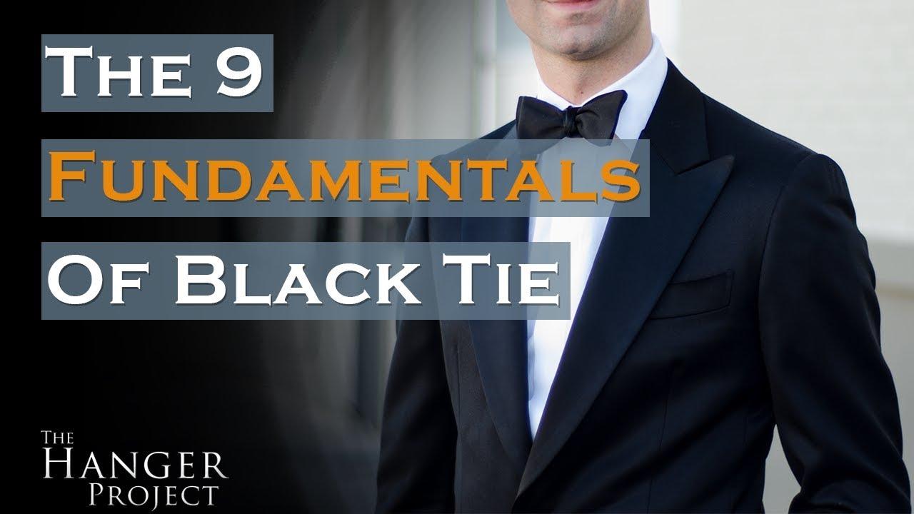 Black Tie Dress Code 9 Fundamentals For A Event