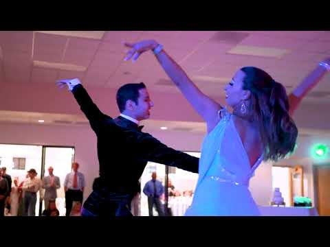 Professionals from NRG Ballroom doing a Dance Show at Mark and Jossette's Wedding