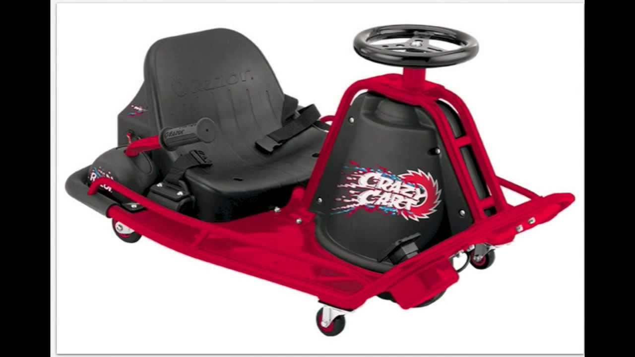 Razor Electric Scooter >> Razor Crazy Cart - Electric Ride-On Cart That Does Spins ...