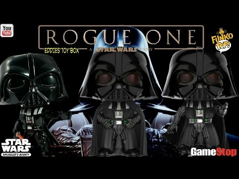 Star Wars Rogue One: Darth Vader (Force Choke) Funko Pop! Review! Gamestop Exclusive!