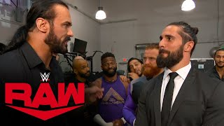 Drew McIntyre rallies the Raw locker room: Raw, Aug. 17, 2020