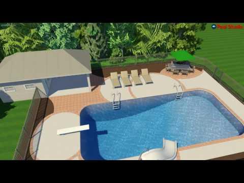 Colgate, WI Pool House Renovation Concept Video R2