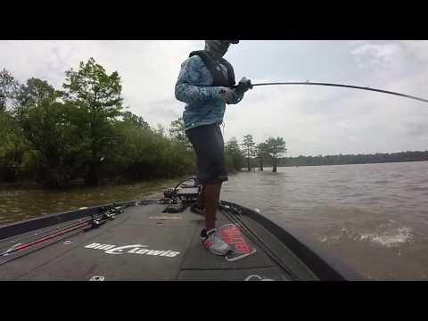 Lake Sam Rayburn  Bass Elite 2017