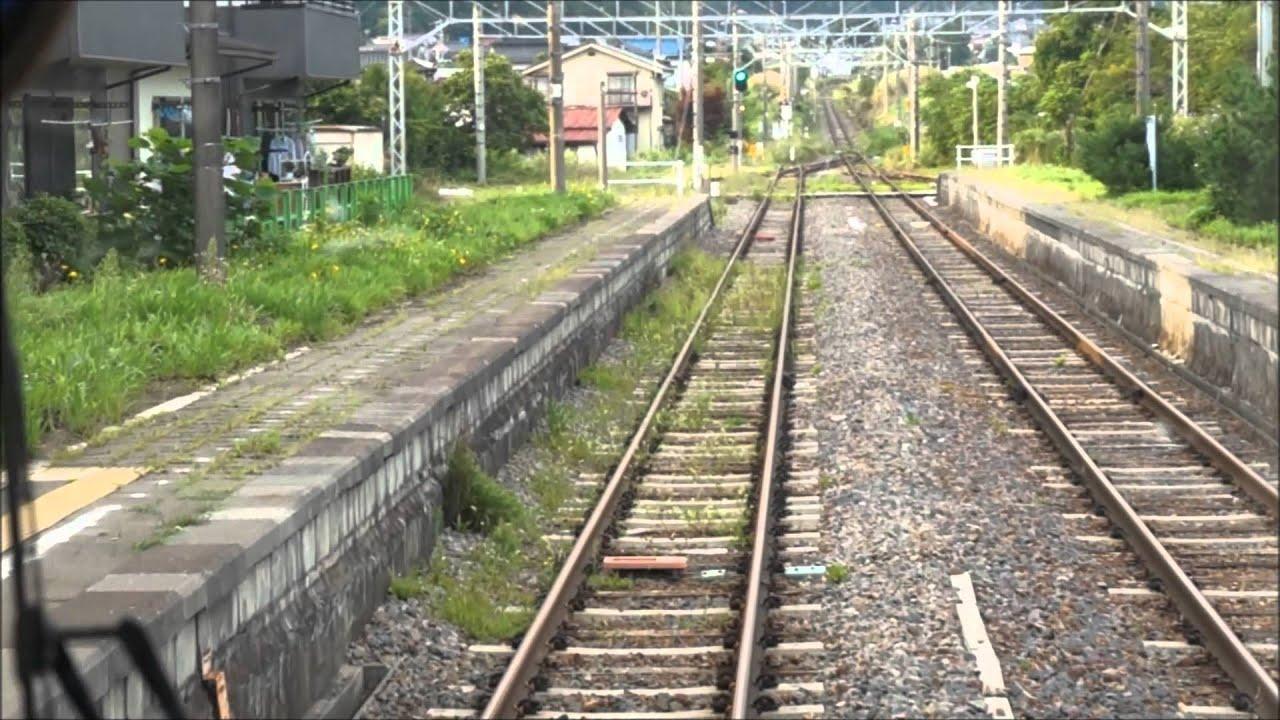 長野県 塩尻駅から塩尻駅への片...