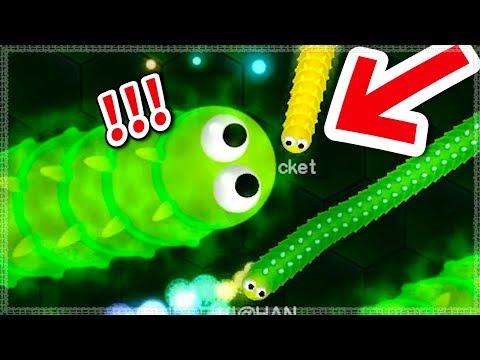 【貪吃蛇】死亡髮夾彎,小蟲沒辦法逃 (7萬分)▶ Wormax.io