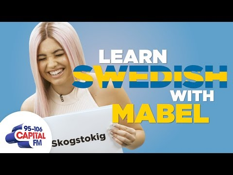 Mabel Teaches You Swedish Phrases 🇸🇪   Capital
