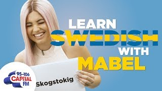 Mabel Teaches You Swedish Phrases 🇸🇪 | Capital