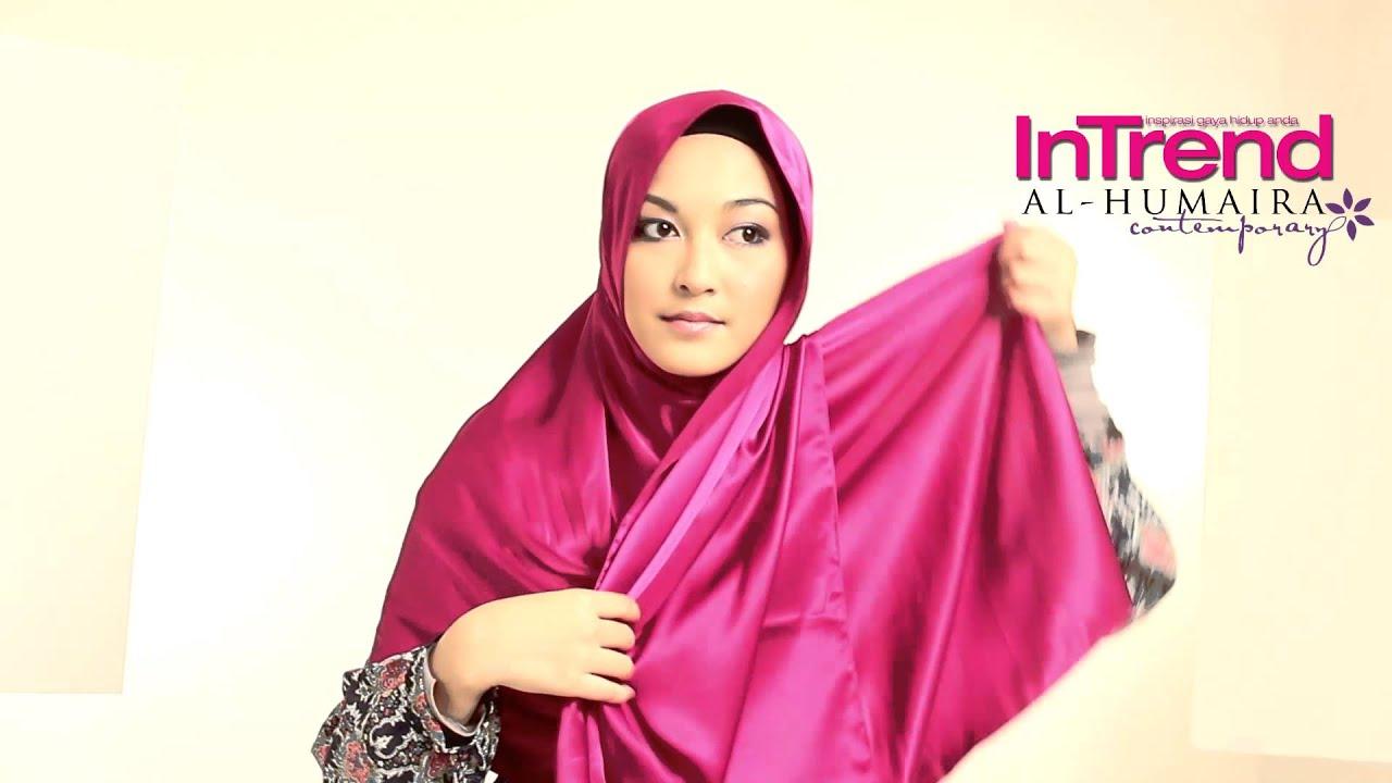 Download Intrend Tutorial Hijab Part 7 Hijab Friday Al Humaira Satin Shawl In Hd Mp4 3gp Codedfilm