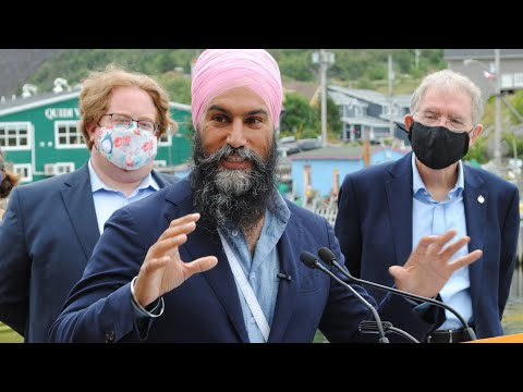 NDP Leader Jagmeet Singh releases party's election platform, calls for new taxes on ultra-rich