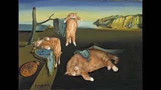 Знаменитые художники - с котиками и без котиков (фото)