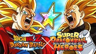 Xeno SSJ3 Goku & Vegeta 100%🌈 Buffs the SSJ3 Category! SDBH Showcase! Dragon Ball Z Dokkan Battle