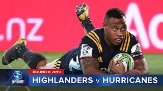 Highlanders v Hurricanes | Super Rugby 2019 Rd 8 Highlights