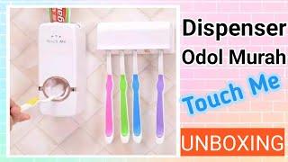 Dispenser Odol Pasta Gigi Dan Tempat Sikat Gigi Toothpaste Dispens