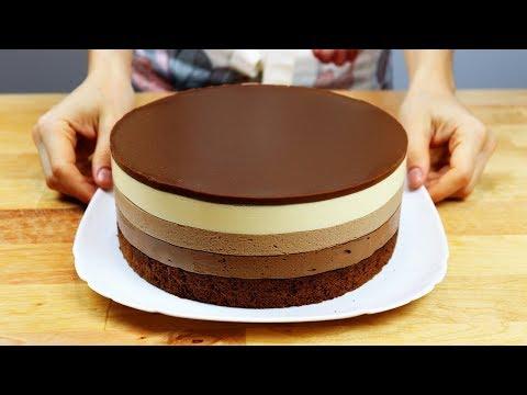 "Торт ""Три Шоколада"" Вкус Шоколадного Мороженого"