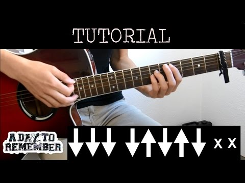 Cómo tocar I'm Already Gone - A Day To Remember (Tutorial Guitarra)