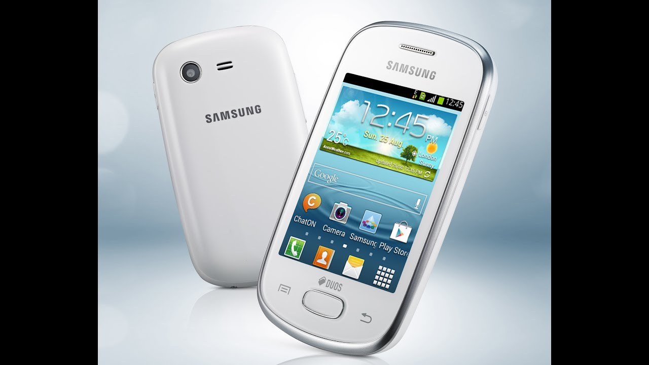 Samsung Galaxy Star S5282 - YouTube