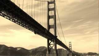 San Francisco Golden Gate Bridge Photo Montage