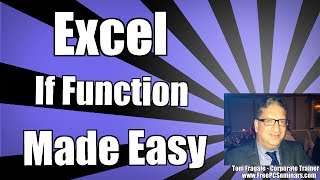 Using An Excel If Function Formula With Multiple Conditions - Excel 2010 Tutorial Examples 2013 2016