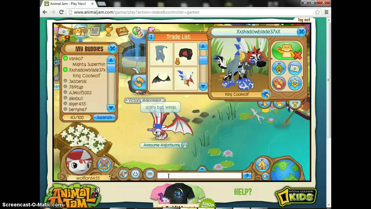 Animal jam scary bat wings youtube - How to get a bat on animal jam ...