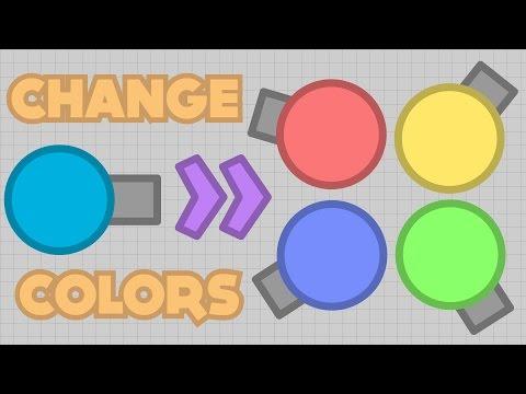 HOW TO CHANGE COLORS!! CONSOLE MODDING TUTORIAL! (Diep.io Sandbox Modding)