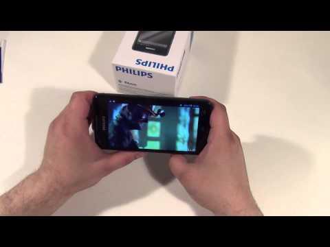 Philips Xenium W6610 Обзор ◄ Quke.ru ►