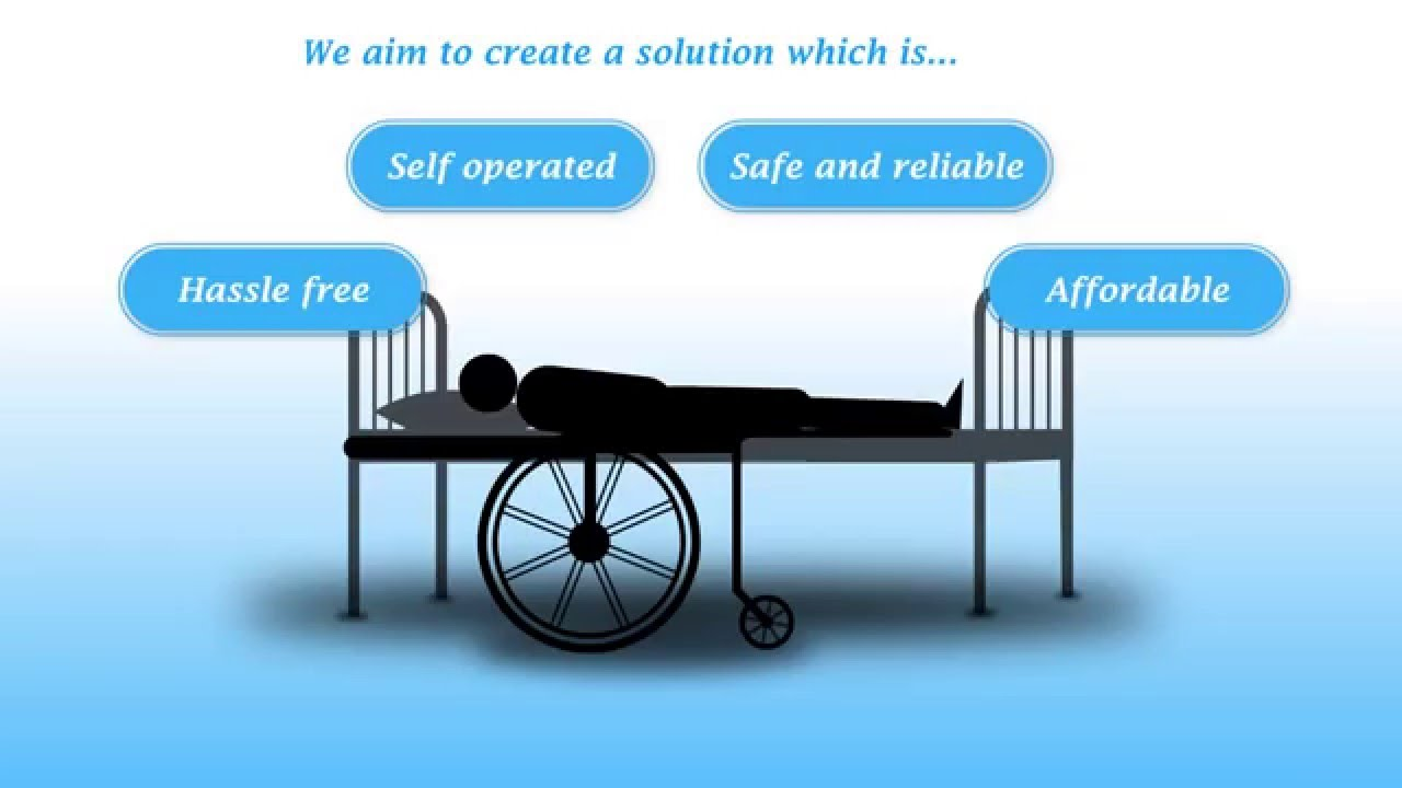 wheelchair with bed transfer assistance mechanism - youtube
