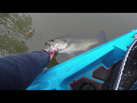 Kayak Fishing Fort Mill Dam