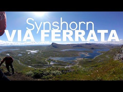 BEST VIA FERRATA IN NORWAY - SYNSHORN - JOTUNHEIMEN  |  twoplustwocrew