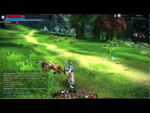 Tera Online Leveling Lancer [HD - Uncut Gameplay]