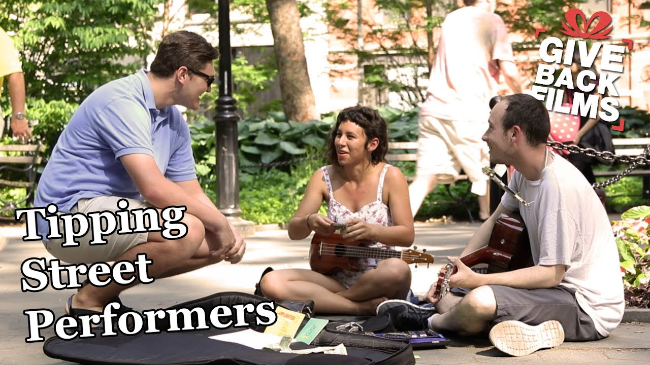 Giving $100 to Street Performers | Give Back Films