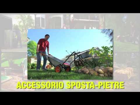 Carrello carriola multifunzione Aerocart