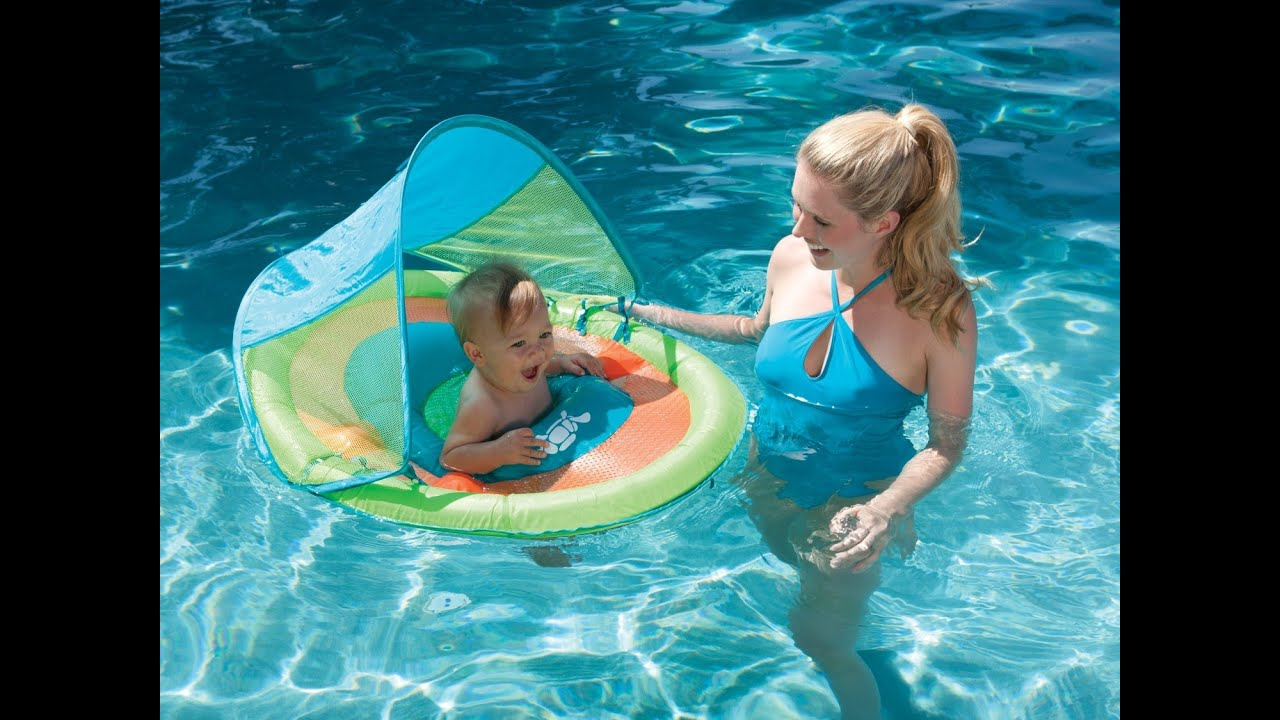 Review Baby Spring Float Sun Canopy Colors May Vary