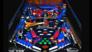 Sega Saturn A - Z - Pro Pinball The Web (Gameplay)