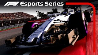 F1 Esports  PC Qualifying Race 3  Spain