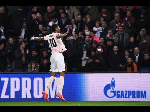 OH WHAT A NIGHT! | Paris Saint-Germain 1-3 Manchester United