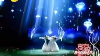 春,表演:杨丽萍、彩旗(2012湖南卫视春节晚会)