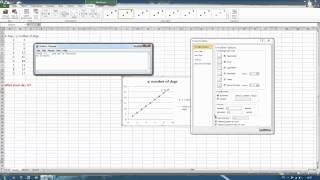 How to do an extrapolation graph